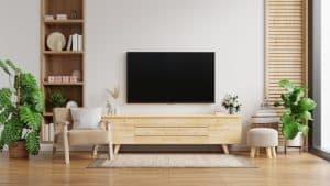 תליית טלויזיה בממד